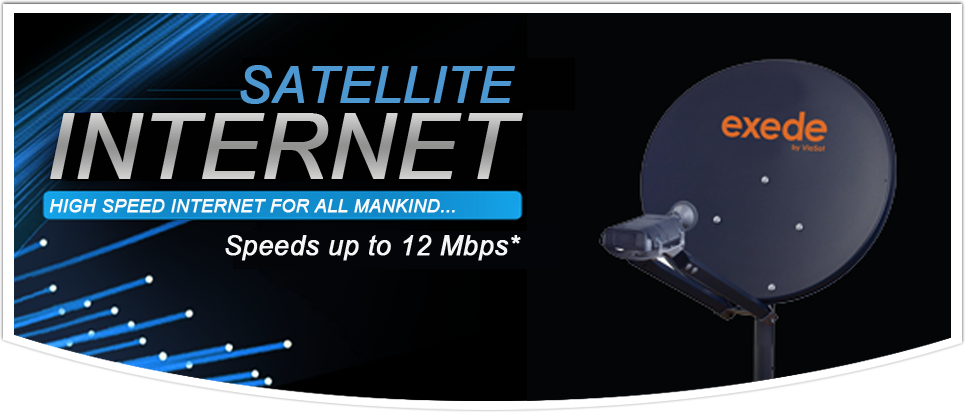 Exede High Speed Satellite Internet in King William and King & Queen Virginia